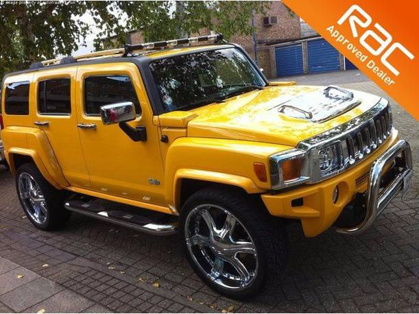 Automotos UK | For Sale Hummer H3 3500kW, 2006 Petrol Sports Utility