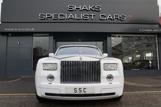 Rolls Royce Phantom 6700kW for sale Shaks Specialist Cars Ltd