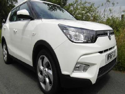 Ssangyong Tivoli 1998KW for sale Ashbank Garage Ltd