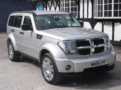 Dodge Nitro 2777KW for sale The Wright Car Centre Ltd