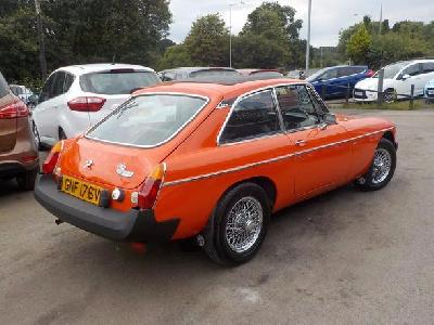 Mg Mgb Gt 1800KW for sale Sutton Motor Services Ltd