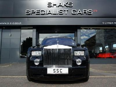 Rolls Royce Phantom 6749KW for sale Shaks Specialist Cars Ltd
