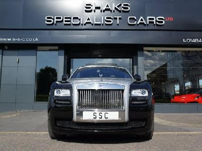 Rolls Royce Ghost 6592KW for sale Shaks Specialist Cars Ltd