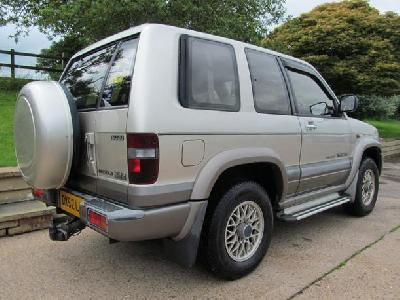 Isuzu Trooper 2999KW for sale Richard James Cars