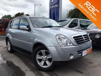 Ssangyong Rexton 2696KW for sale A To B Vehicles