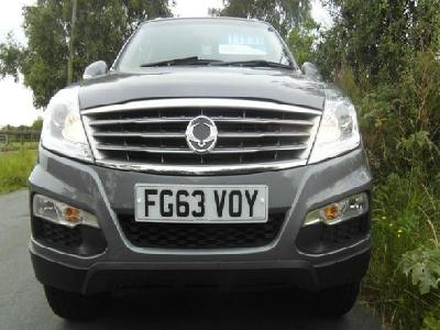 Ssangyong Rexton 1998KW for sale Ashbank Garage Ltd