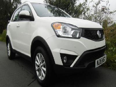 Ssangyong Korando 1998KW for sale Ashbank Garage Ltd