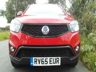 Ssangyong Korando 2157KW for sale Ashbank Garage Ltd