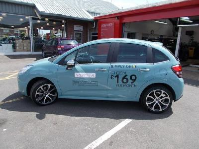 Citroen C3 1199KW for sale Wilmoths Citroen Eastbourne