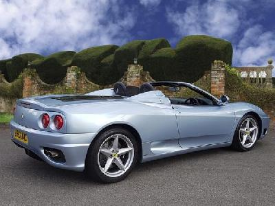 Ferrari F355 3586KW for sale Speeds
