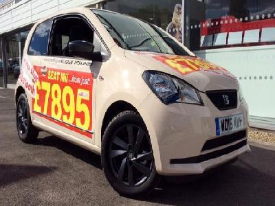 Seat Mii 2000KW for sale Invicta Honda & Mazda Tunbridge Wells
