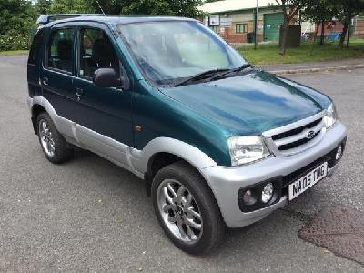Daihatsu Terios 1298KW for sale Stanton Hill Motors