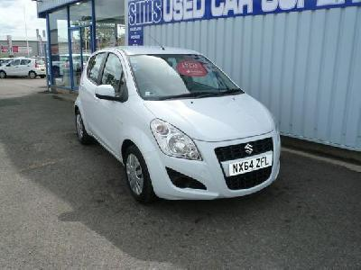 Suzuki Splash 996KW for sale Stephen A Sims Cars Ltd
