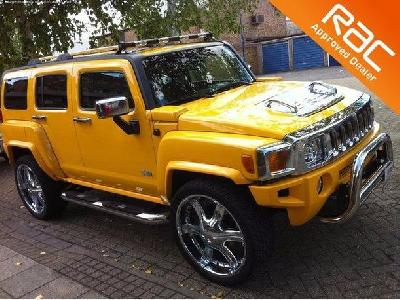 Hummer H3 3500KW for sale GP Cars (Herts) Ltd