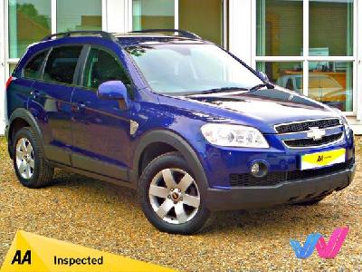 Chevrolet Captiva 2000KW for sale Adam Walters Ltd