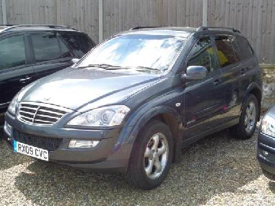 Ssangyong Kyron 2000KW for sale Adam Walters Ltd