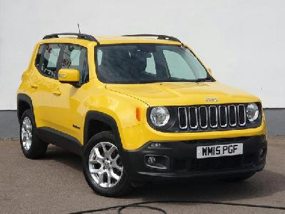 Jeep Renegade 1956KW for sale Arnold Clark Fiat / Kia (Aberdeen)