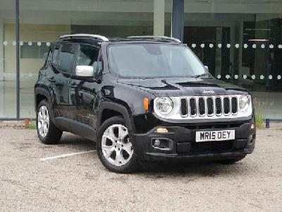 Jeep Renegade 1598KW for sale Arnold Clark Fiat / Kia (Aberdeen)