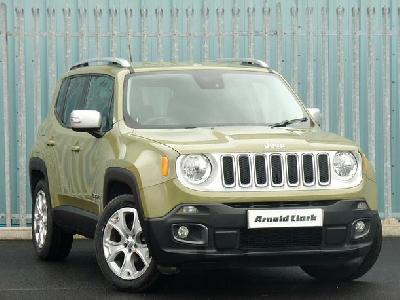 Jeep Renegade 1598KW for sale Arnold Clark Fiat / Jeep / Chrysler (Elgin)