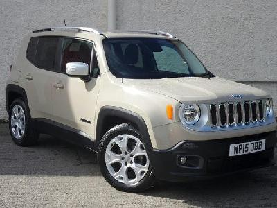 Jeep Renegade 1598KW for sale Arnold Clark Falkirk Fiat/Abarth