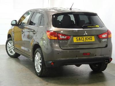 Mitsubishi Asx 1590KW for sale Arnold Clark Glasgow South Street Motorstore