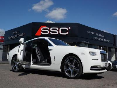 Rolls Royce Wraith 6600KW for sale Shaks Specialist Cars Ltd
