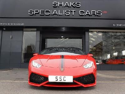 Lamborghini Huracan 5200KW for sale Shaks Specialist Cars Ltd